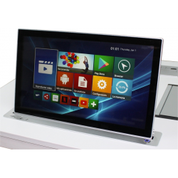 """Motorized Retractable Monitor 17"""" FHD"""