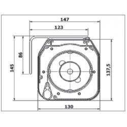 Pantallas Eléctricas, Bordes Negros, PVC, Motor Tubular, Carenado Aluminio